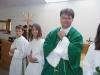 Szabolcs atya bemutatkozó miséje