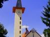 A torony a f?bejárati résznél